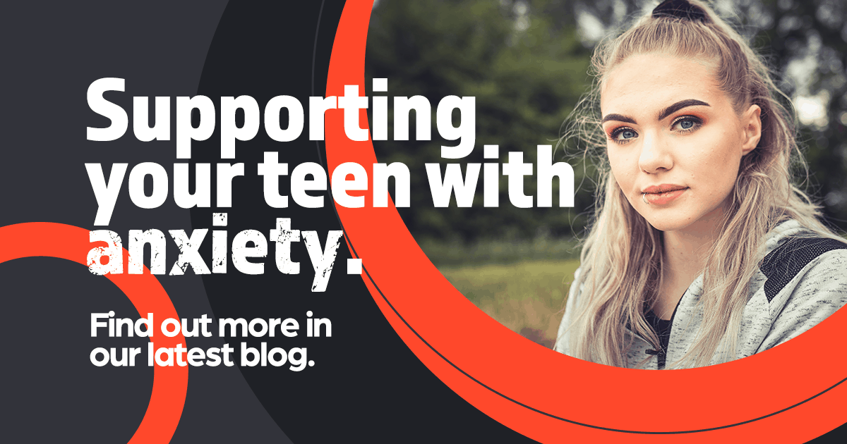 Teenage girl, supporting your teen with anxiety, clinical research