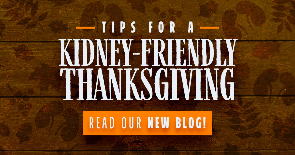 Kidney-friendly Thanksgiving tips, clinical research, kidney disease,