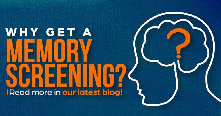 Why get a memory screen, clinical research, memory and aging