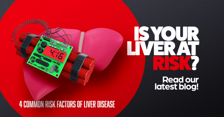 Is your liver at risk? Liver with a ticking bomb on it, clinical research, fibroscan