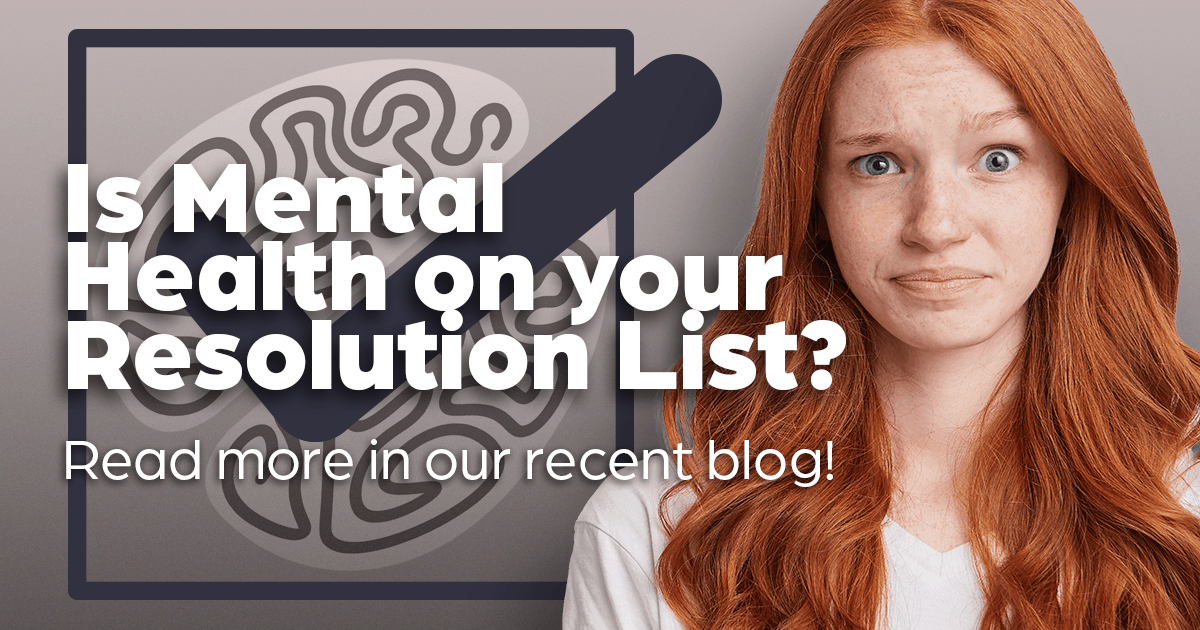 Is mental health on your resolution list? Young teen girl checklist, clinical research