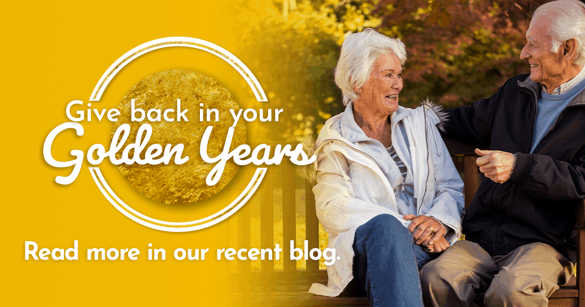 Giving back in your golden years, older woman sitting, clinical research