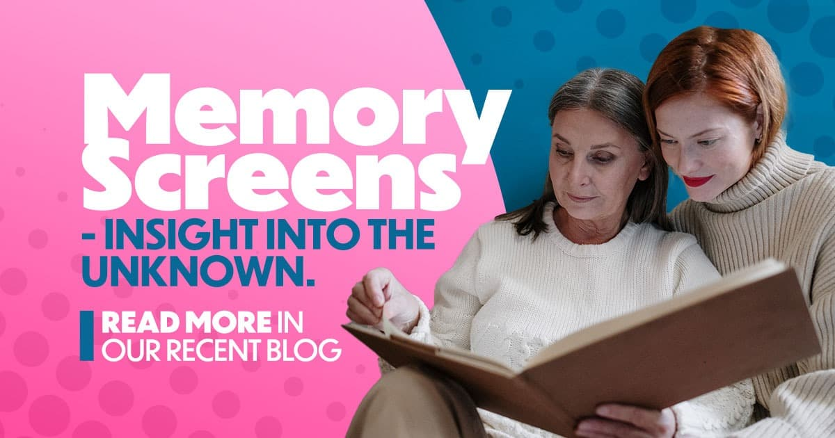 Memory screens, insight into the unknown, blog