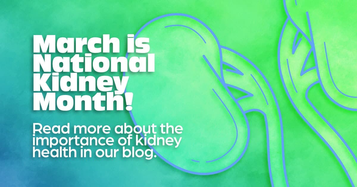 March is national kidney month, blog, kidney disease research